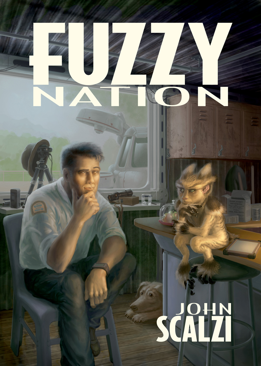Original version of the cover, by Jeff Zugale.