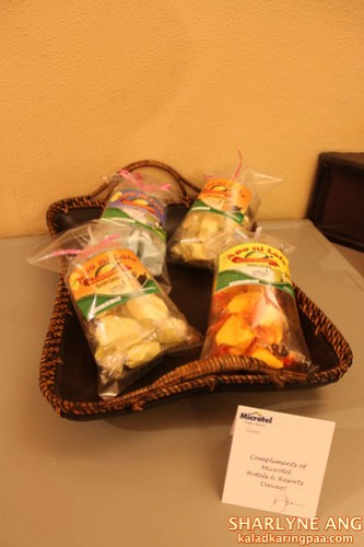 Davao Delicacies from Microtel Davao
