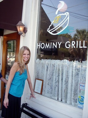 Me Outside Hominy Grill
