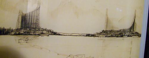 ARTHUR ERICKSON: PLAN 56 FOR THE WEST END, VANCOUVER , 1955 (DETAIL 1)