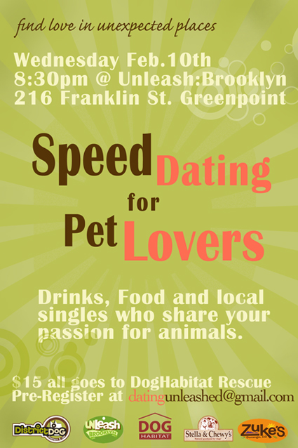 Speed Dating for Pet Lovers