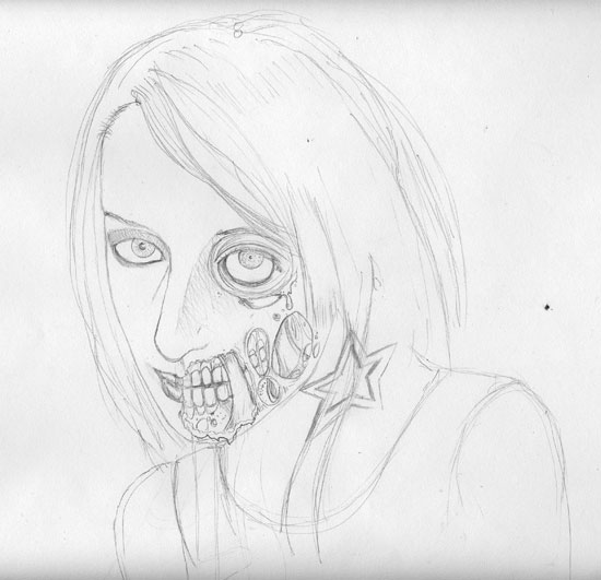 christopher-williams-zombie-art-finished-pencils