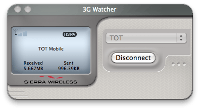 3G Watcher with TOT Mobile