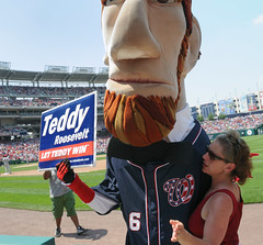 Abe Lincoln supports Teddy?