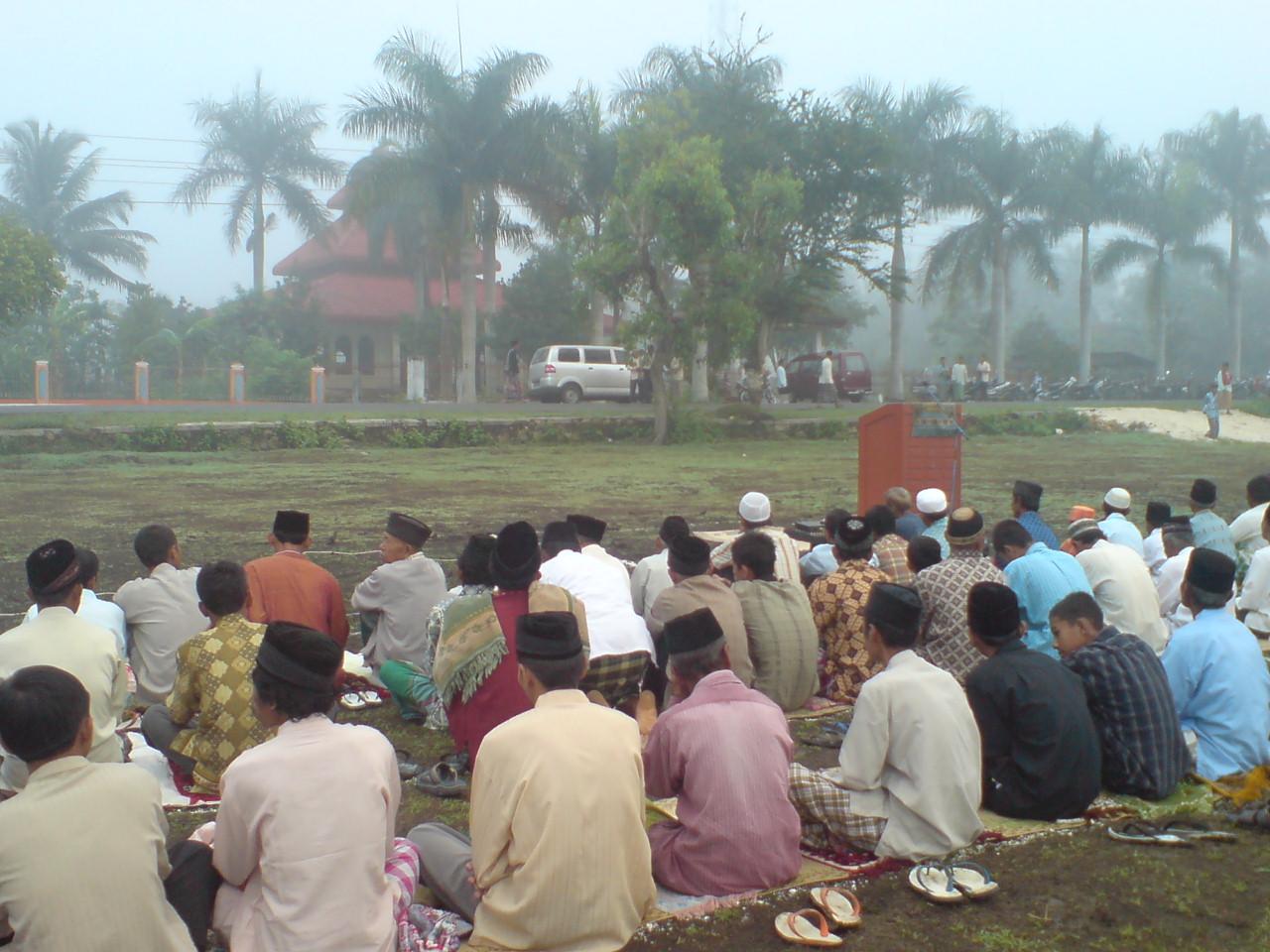 Shalat Ied di lapangan #grogol #indonesiabanget 05