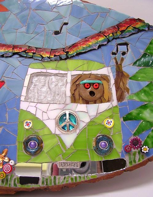 VW bus detail