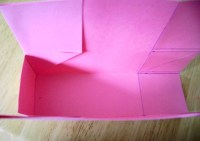 One side completed with fold