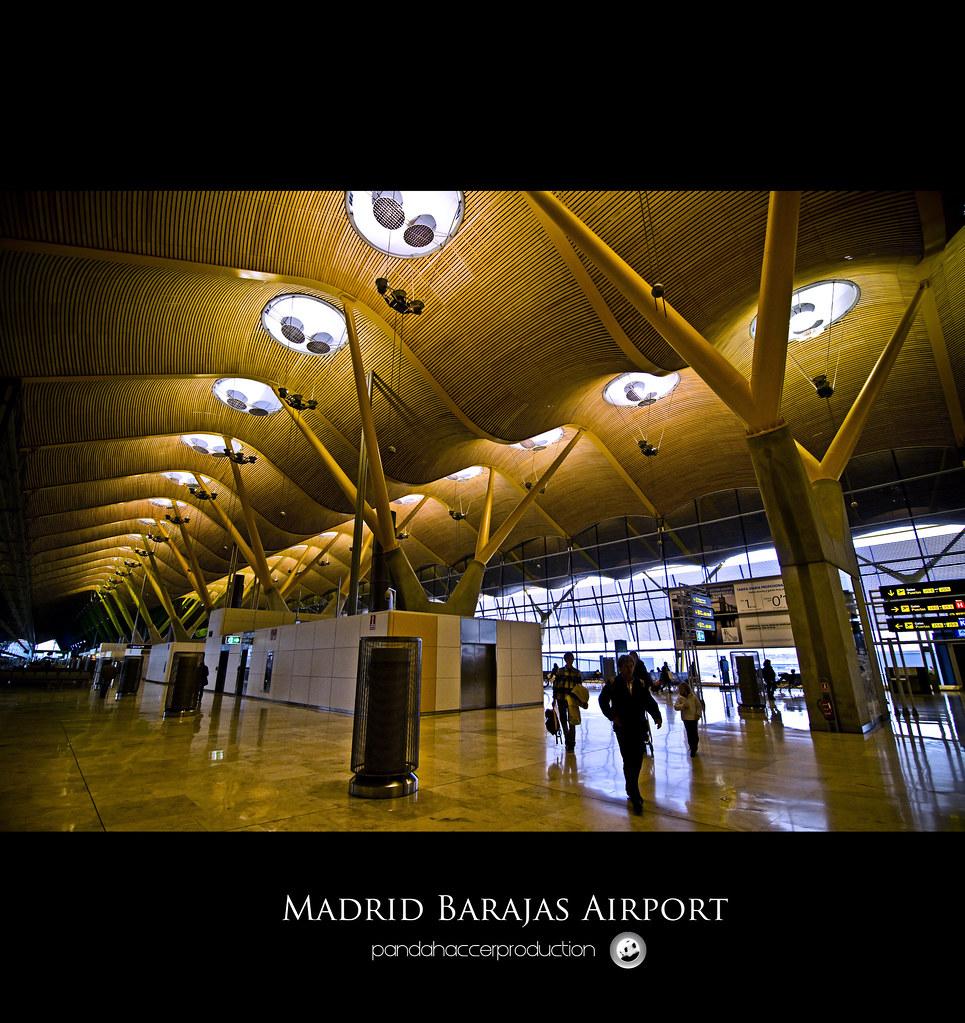 Madrid Barajas Airport ( Terminal 4 )