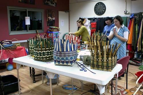 Last Basket-Weaving Class