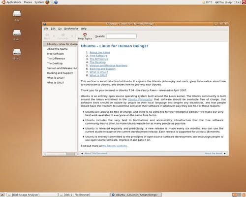 Ubuntu Feisty Fawn