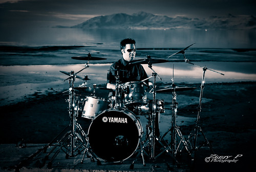 Drums on the Great Salt Lake