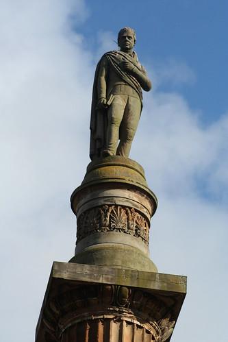 20090920 Glasgow 02 George Sq. 25 Walter Scott Statue