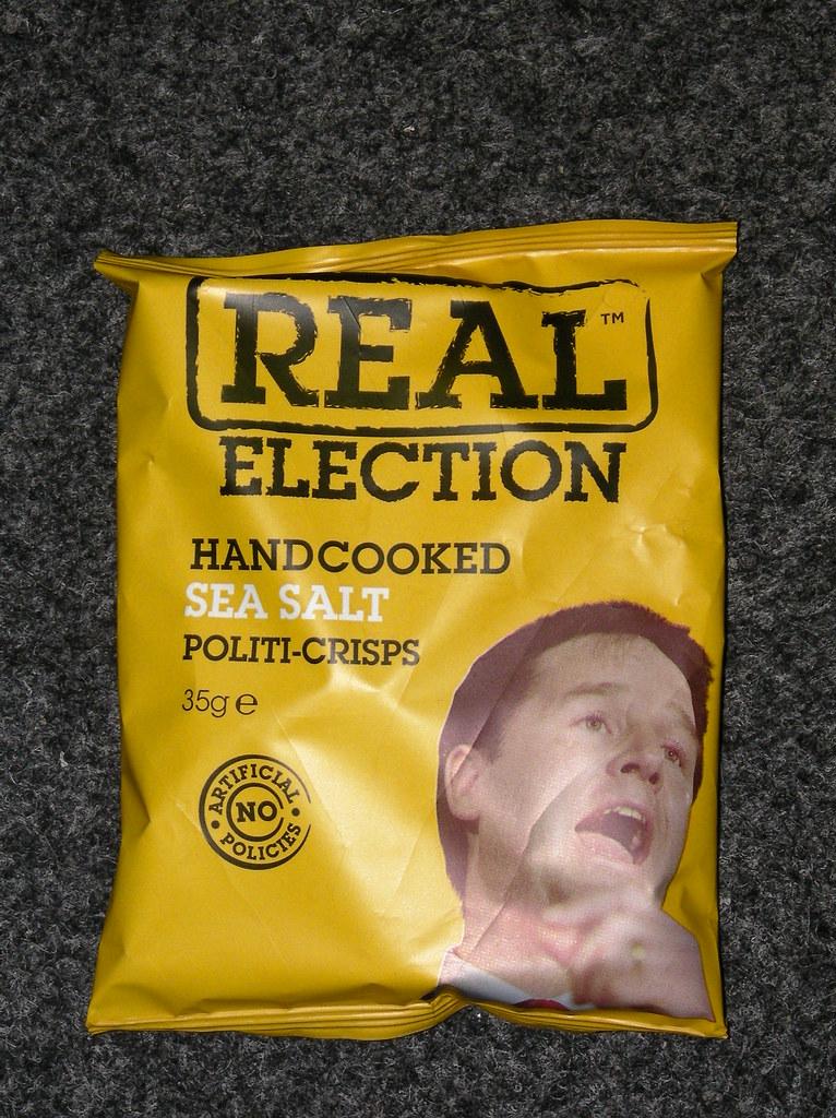Real Political Crisps-Nick Clegg