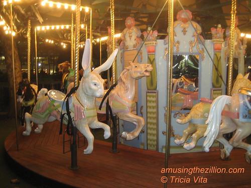 Le Carrousel at Bryant Park in Midtown Manhattan. Photo © Tricia Vita/me-myself-i via flickr
