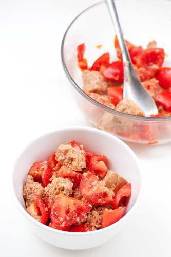 tomato & bread salad