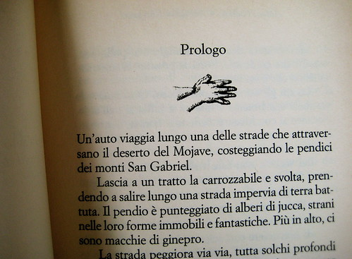 Aldous Huxley, Christopher isherwood, Le mani di Jacob, Baldini & Castoldi 1999, p. 5 (part.)