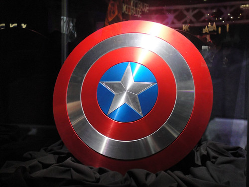E3 2011 - Captain America's shield from Captain America: the First Avenger (Sega)
