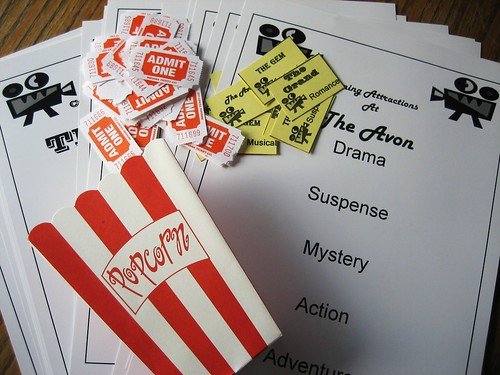 Movie Night Party Game