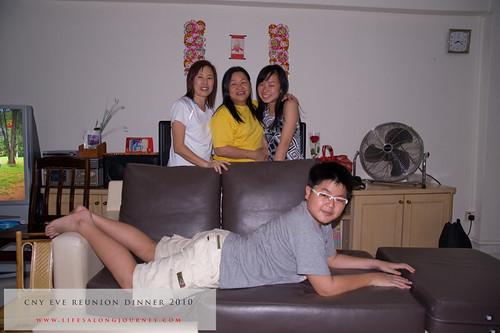 CNY Reunion Dinner 2010 #12