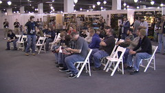 Kickoff Crowd on Saturday at the NAAExpo 2010