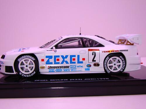 EBBRO ZEXEL SKYLINE R33 JGTC 1998 (9)