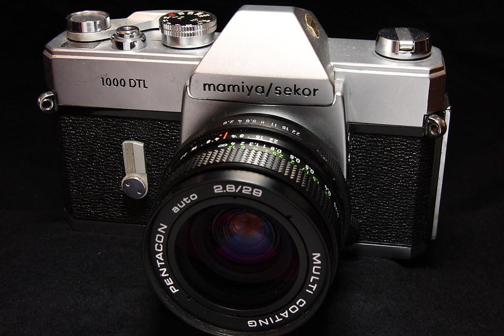 Mamiya/Sekor 1000 DTL mit Pentacon 29mm