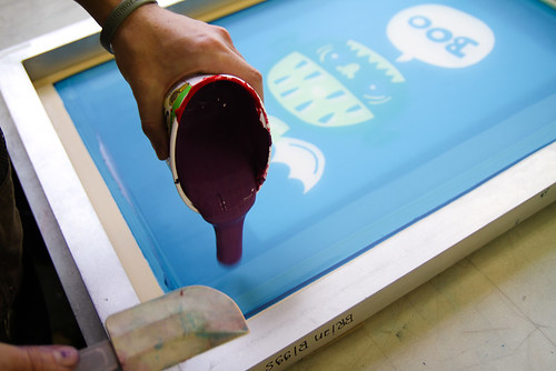 screenprint class week 3.5: glop
