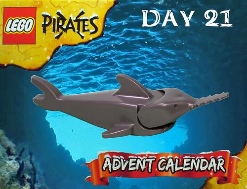 Pirate Advent Calendar Day 21