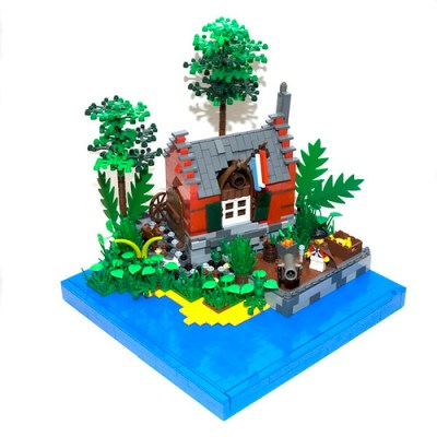 Lego Pirate Outpost