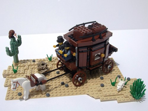 LEGO Stagecoach Escape Instructions 79108, The Lone Ranger
