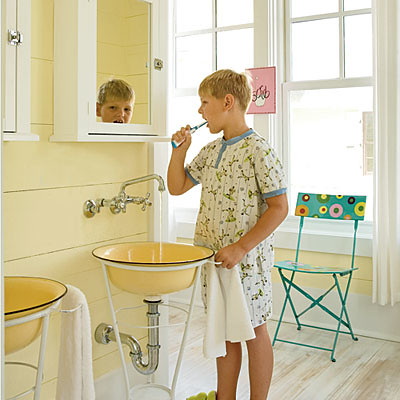 wash basins Coastal Living