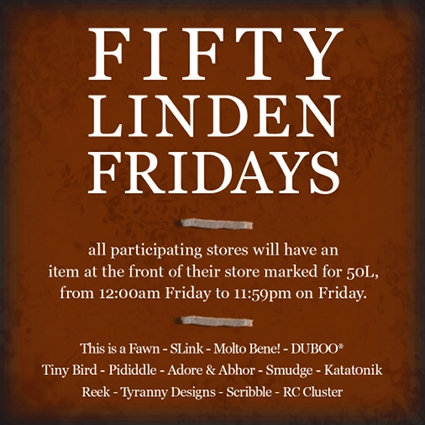 Fifty Linden Fridays 16