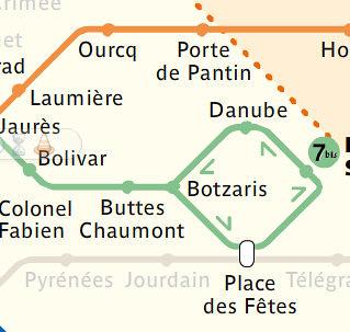 Line 5 and 7 bis - ratp
