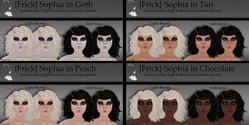 {Frick} Pinups - Sophia