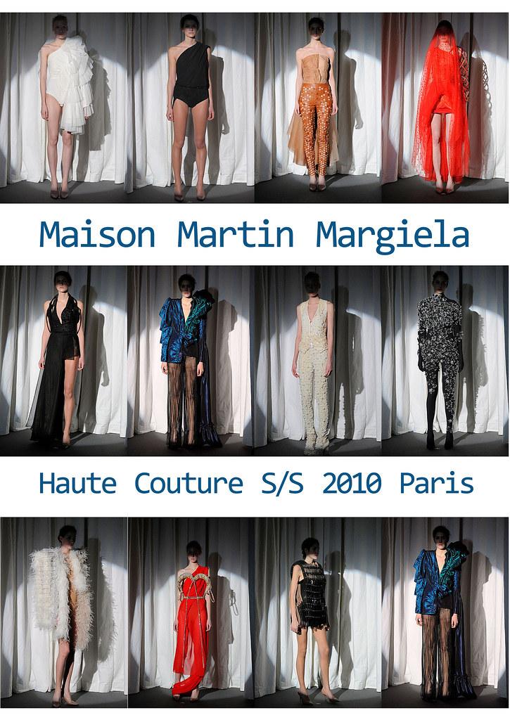 Maison Martin Margiela Haute Couture SS 2010 Paris