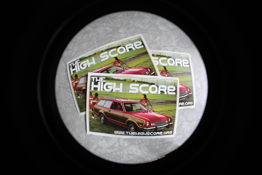 High Score stickers