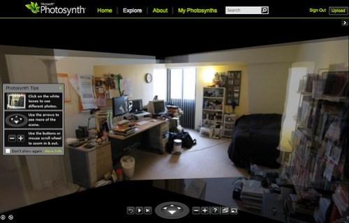 Photosynth: Kevin's Buffalo Bedroom