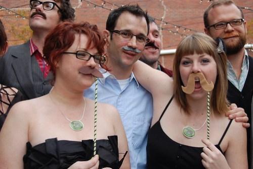 mustache madness!