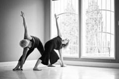 Yoga makes you flexible