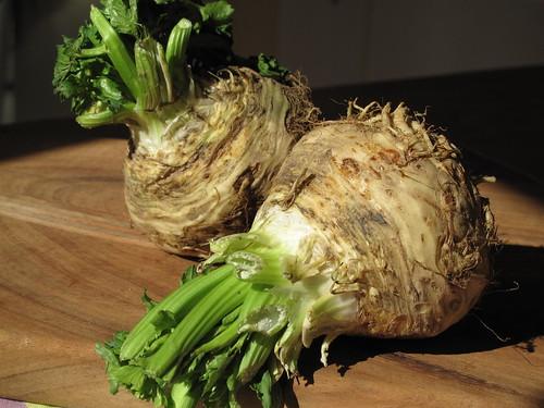 Organic Celeriac aka Celery Root