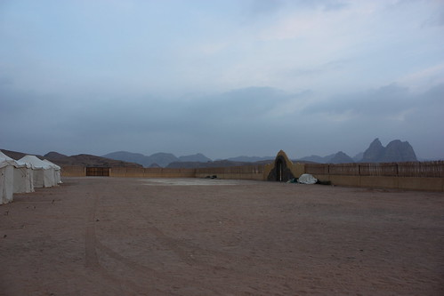 Waking Up In Wadi Rum