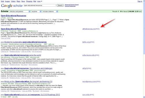 Google Scholar howto 04