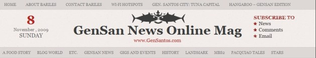The latest GenSan News Online Mag Header