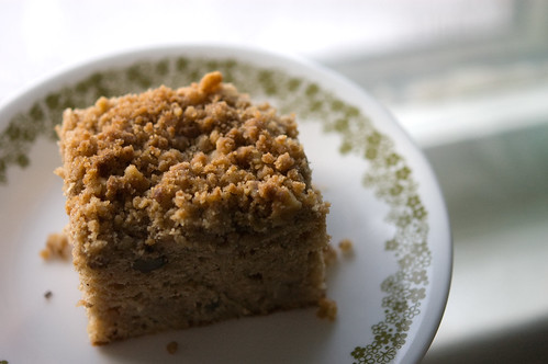 apple spice coffee cake (by bookgrl)