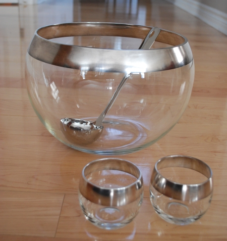 Crazy beautiful unique classy mod Punch Bowl