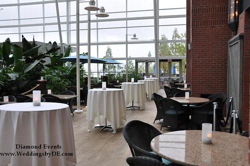 Moon Bay Restaurant Patio area