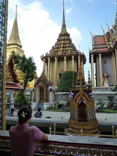 Sarah im Phra Kaeo