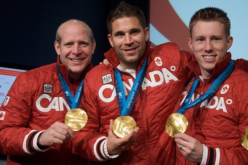 Canadian Olympic Men's Gold Medal Curling Team