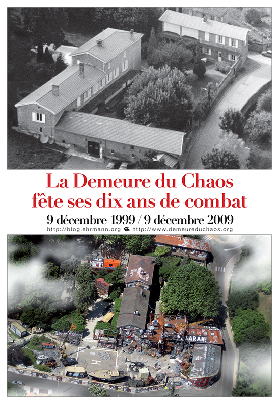 1999 - 2009 Demeure du Chaos Anniversaire