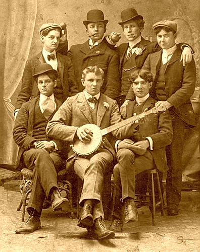 Nova Scotia Banjo Player